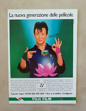 D987 - Advertising Pubblicità -1987 - FUJI FILM PELLICOLA TEST. JULIAN LENNON