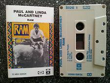 PAUL AND LINDA McCARTNEY - RAM CASSETTE TAPE VGC RARE