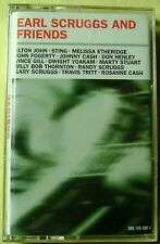Earl Scruggs and Friends  (Cassette, 2001, MCA) NEW