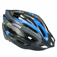 Blue Helmet visor Cycling Mountain Bike Bicycle Helmet bike ED