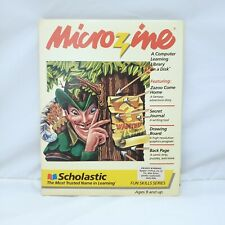 Microzine by Scholastic #8 Teacher's Edition Software Apple II Plus, E, C, GS