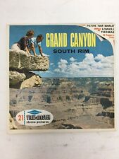 Grand Canyon South Rim Viewmaster Reels Sawyers Packet Complete w/ Booklet