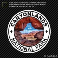 Canyonlands National Park Sticker Die Cut Vinyl utah colorado explore hike camp