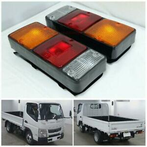 FIT Mitsubishi Fuso 355 Canter Fe Fb511 Tail Lamp Light Pair Truck Mii Truck