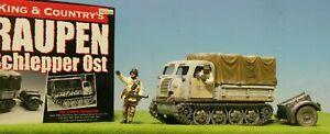 KING & COUNTRY #BBG009 GERMAN RAUPEN SCHELPPER + LEAD SOLDIER SET *RETIRED MIB🔥