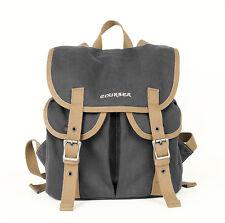 vintage waterproof canvas casual pocket camera backpack bag for DSLR EVIL 0359