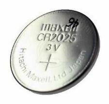 Maxell Pile Bouton CR2025 3V Lithium X5