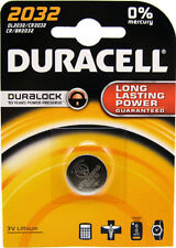 Baterías desechables Duracell CR2032 para TV y Home Audio