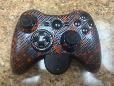 Xbox 360 Controller Gamer Modz Custom Controller with Bluetooth Audio Adapter