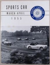 Sports Car Club of America Mar-Apr 1955 SCCA Kirk Douglas The Racers 1954 Champs