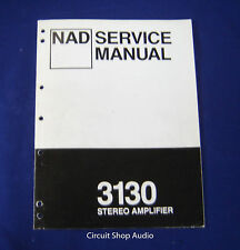 Original NAD 3130 Stereo Amplifier Service Manual