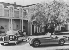 Jaguar XK 120 & Jaguar Mk VII 1951 – Jaguar 1951 publicity campaign photograph