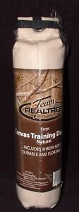 """Team Realtree 3"""" Large  Canvas Dog Puppy Training Hunting Throwing Dummy Floats"""