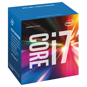 Intel Core i7 6700 3.4GHZ Quad Core CPU Processor LGA1151