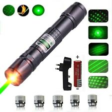 LASERPOINTER GRÜNER STRAHL 40 kM  AKKU+5STAR CAPS 1mW GREEN LASER POWER POINTER