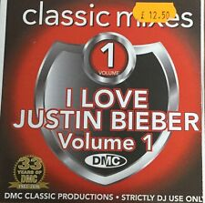 DMC Classic Mixes - I Love The Justin Bieber Volume 1 -CD For DJ Use Only