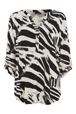Viscose Animal Print Casual Blouses for Women