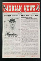 Indian News March 1948 Vol 2 No 1 World Champions Cleveland Indians Lou Boudreau