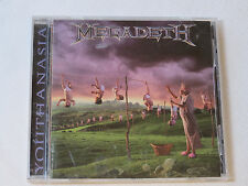 Megadeth Youthanasia CD 1994 Capitol Records Train of Consequences Victory