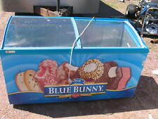 Caravell Ice Cream Display Cabinet Model (506-996) Freezer Blue Bunny