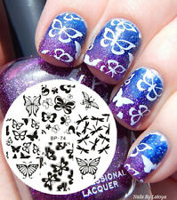 Nail Art Stamping Plate Various Butterfly Image Stamp Template BP74 Born Pretty
