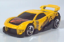 "Hot Wheels MS-T Suzuka 3"" Diecast Scale Model Racer Yellow Rally Car"