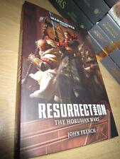John French RESURRECTION 1st/PB MINT Warhammer 40K Horusian Wars Book 1
