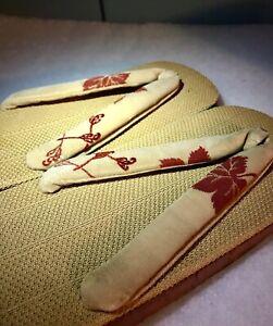 Vintage Japanese Woman's Zori Sandal