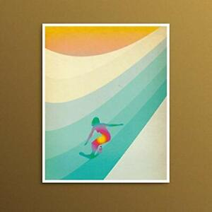Master of Life California Sixties Retro Surf Art Print  Decor Poster [No Framed]