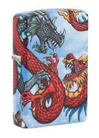 Zippo Dragon Design 540 Color Windproof Pocket Lighter, 49354