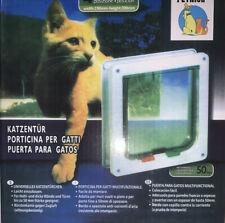 New listing Rikounan Cat Door with 4 Way Locking, Quiet Pet Doors