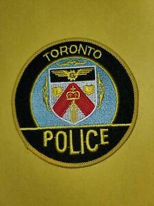 Ca Toronto Canada Police Patch