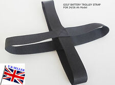 Golf Trolley Battery Holding Strap for 24Ah & 26Ah Carrier Batteries