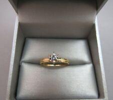 14k Yellow Gold Diamond Engagement Ring Vintage BOBO Designer 2.03g Size 9.75