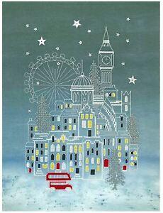 Bothy Threads Cross Stitch Kit - Snowy London