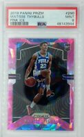 2019 Panini Prizm Pink Ice Matisse Thybulle Rookie RC #290, PSA 9, Pop 13, 6 ^