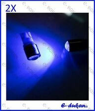 2 X Projector Lens LED T10  Car & Bike Parking / Rear Number Plate Light - BLUE