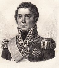 Général Paul Grenier Sarrelouis Napoléon Bonaparte Premier Empire 1818