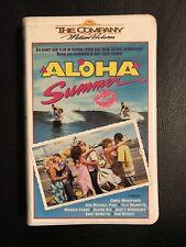 Aloha Summer Ex-Rental Vintage Big Box VHS Tape English dutch subs