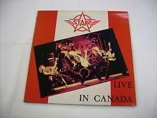 STARZ - LIVE IN CANADA - LP VINYL EXCELLENT CONDITION 1980