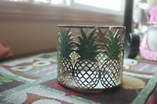 New ListingBath & Body Works Pineapples 3 Wick Candle Holder Sleeve, New