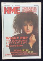 NME New Musical Express 22 September 1984 Boy George Cover Go Go John Hurt