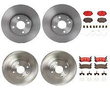 Front & Rear Brembo Full Brake Kit Disc Rotors Ceramic Pads For Miata 1994-2005