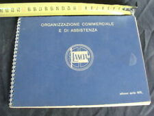 Manuale Lancia organizzazione commerciale e di assistenza