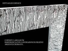 SPECCHIERA MODERNA - SPECCHIERA ARGENTO - SPECCHIERA DESIGN - 122 X 50