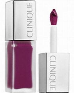 Clinique Pop Liquid Matte Lipstick + Primer 'Black Licorice Pop' New Full Size