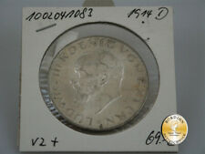 Silbermünze; Kaiserreich, Drei Mark, Bayern, Ludwig III