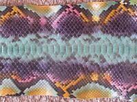 5 Brown Alligators Strips,snake Skins,Crocodiles,Lizards,Belt Makers Hand Bags