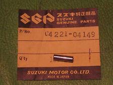 SUZUKI T305 T350 TC305 CRANKSHAFT RIGHT BEARING DOWEL PIN OEM # 04221-04149