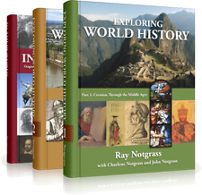 Notgrass Exploring World History Complete Curriculum Set Newest 2014 Edition